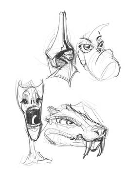 Weird heads