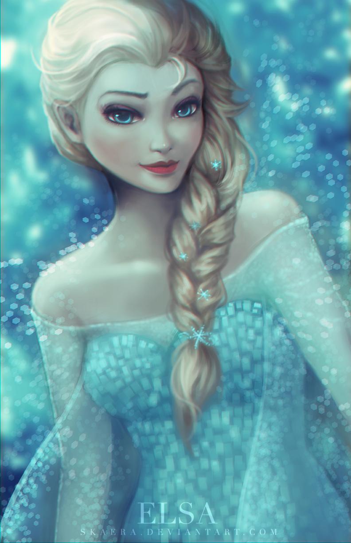 Elsa! by Skaera