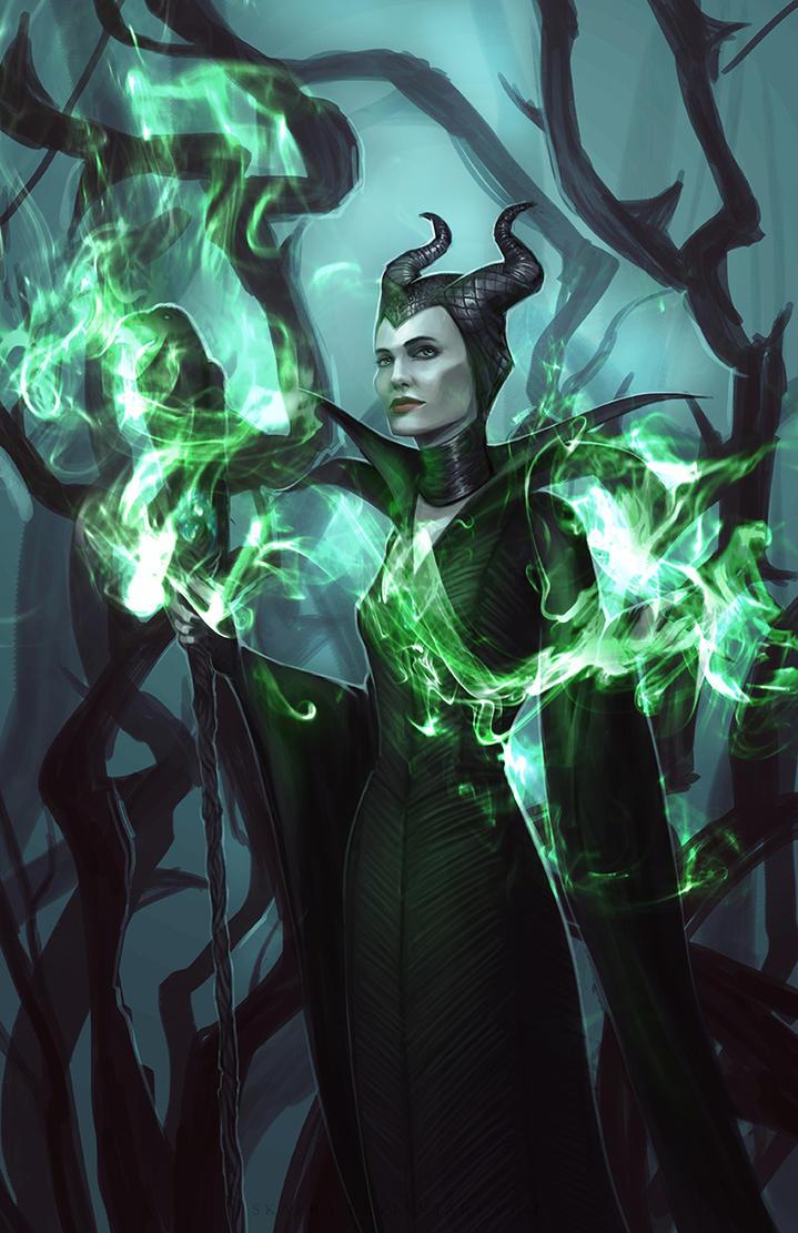 Maleficent by Skaera
