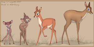 From fawn to doe