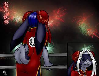 Happy Chinese New Year by kawaiifurball