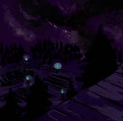 AE - An Evening Sky by woodcir