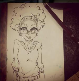 Caricature - Nayra