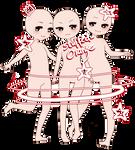 Chibi Base {Three Pose Pack!} P2U