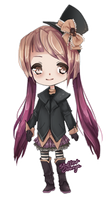 Closed: Bow Baby {auction} by Stuffed-orange