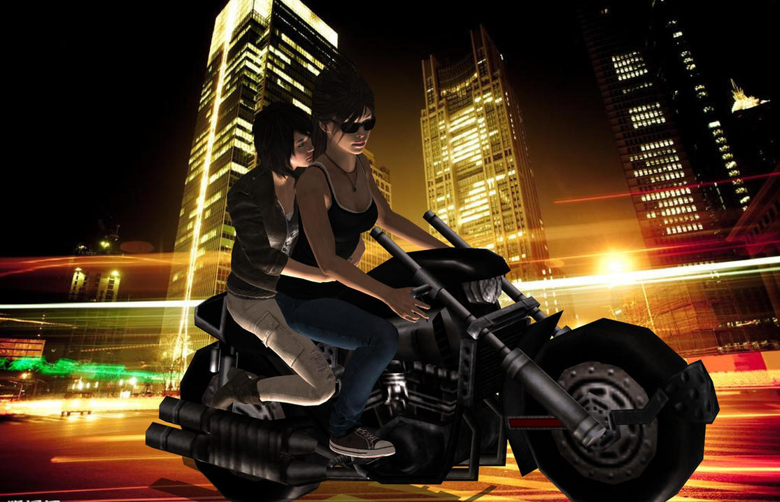 Take a ride by LiaraFemshep