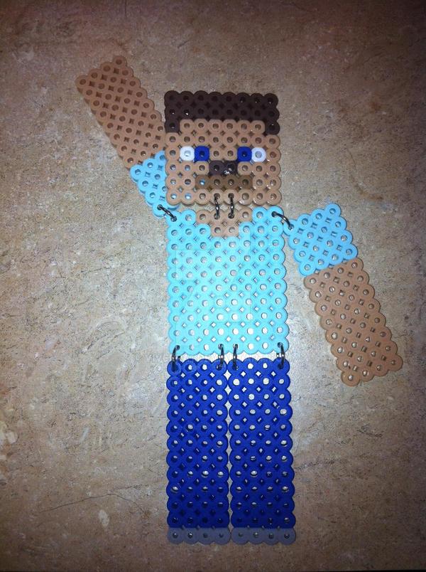 Minecraft Steve Bead Sprite By Viverra1 On Deviantart