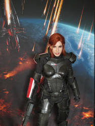 Ready to Fight Reapers- BioWare Base Pax East 2014 by Viverra1