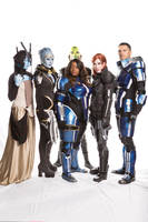 Mass Effect Cast Cosplay (with us cosplayers!)