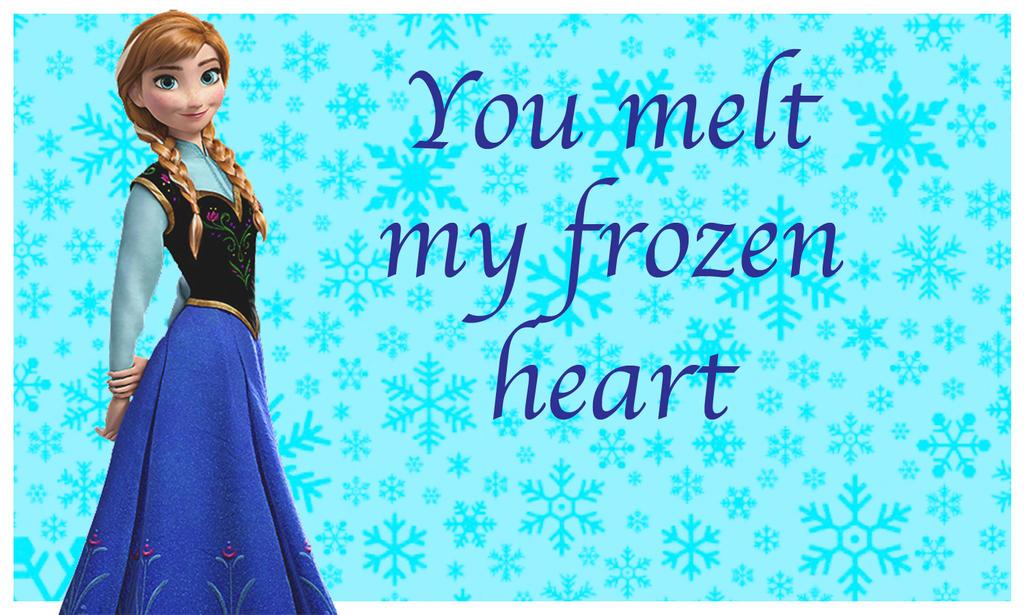 Frozen Valentine- Anna by HelloKeegs