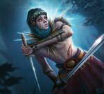 Haradrim Warrior by Nassima-Amir
