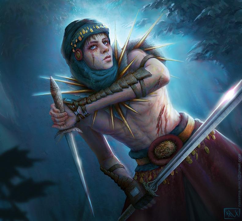 Haradrim Warrior by Nassima-Amir on DeviantArt
