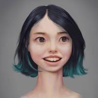 Kamiyah - Scientist - Portrait by Nassima-Amir