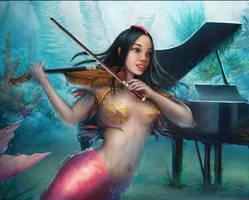 Underwater Fantasy Concert with Mermaids by Nassima-Amir