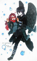 COMMISSIONS- ALLEN AND ERIN by Rika-Artsu