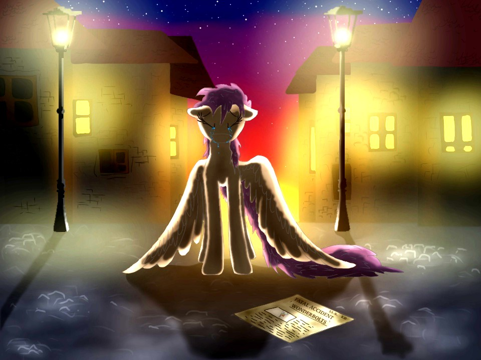 The saddest sunset of her life. by kot6