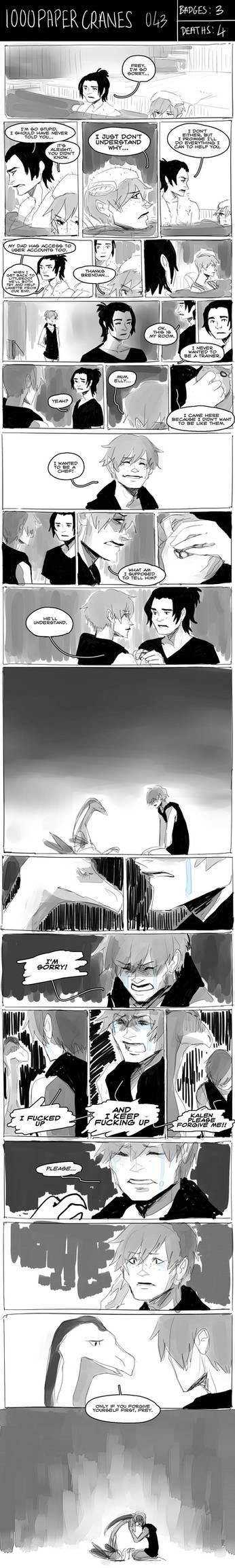 1000 Paper Cranes [EMERALD NUZLOCKE] 043