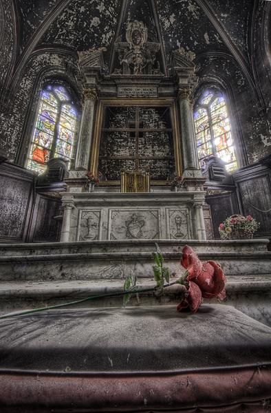 Rose Chapel II by DimitriKING