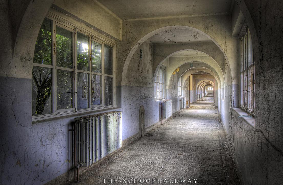 Labyrinth School - The Hallway by DimitriKING