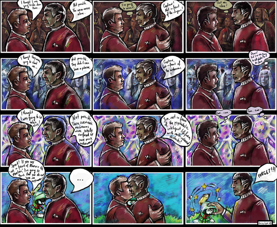 TOS Spirk: Not In Front Of... by iscalox