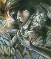 Archangel Samael by iscalox