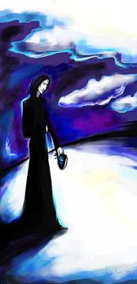 Severus Snape as a Deatheater