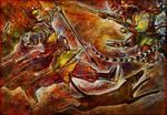 Sun Wukong vs. Erlang by iscalox