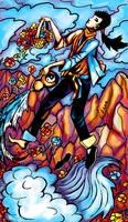 Tarot: The Fool by iscalox