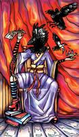 Tarot: The Popess by iscalox