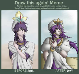 Draw this Again Sinbad by HeavenBunny95
