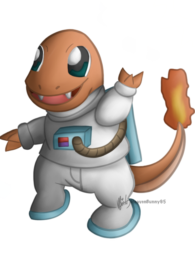 Pokemon Charity Collab - Charmander by HeavenBunny95