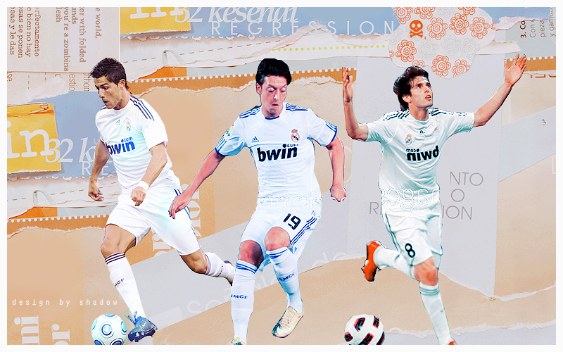 Header Cristiano Ozil And Kaka By Shad-designs On DeviantArt