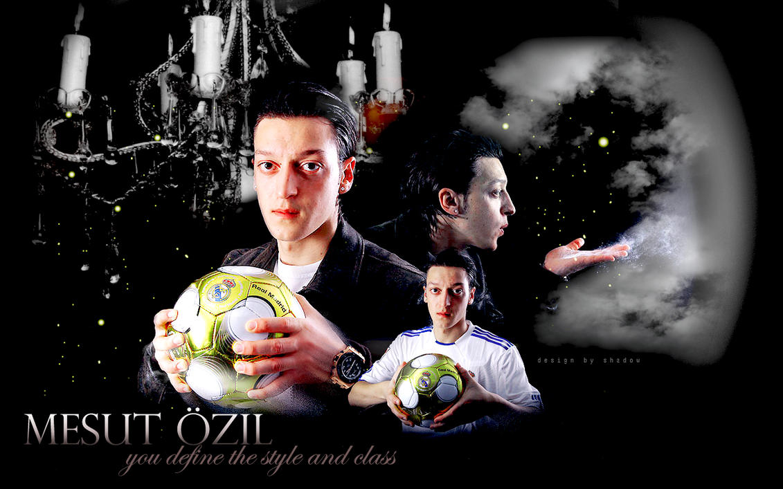 Wallpaper Mesut Ozil 5 By Shad-designs On DeviantArt