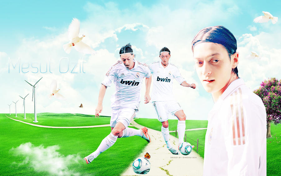 Wallpaper Mesut Ozil 11 By Shad-designs On DeviantArt