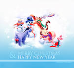 Merry Christmas and Happy New Year 2012 by shad-designs