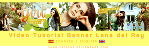VideoTutorial Banner Lana del Rey