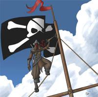 Ninja-Pirate by sonicc