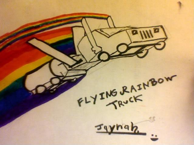 FlyingRainbowTruck