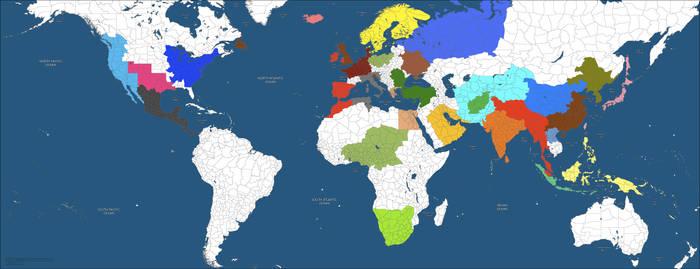 NationStates Map
