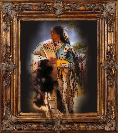 Wall Art   Native American   Serenity By Jasminwtf ...