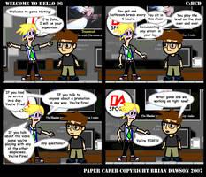 Paper Caper Comic 6
