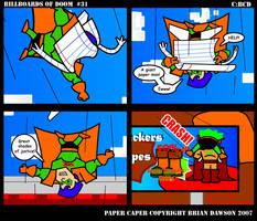 Paper Caper Comic 31 by papercaper
