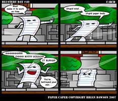 Paper Caper Comic 40 by papercaper