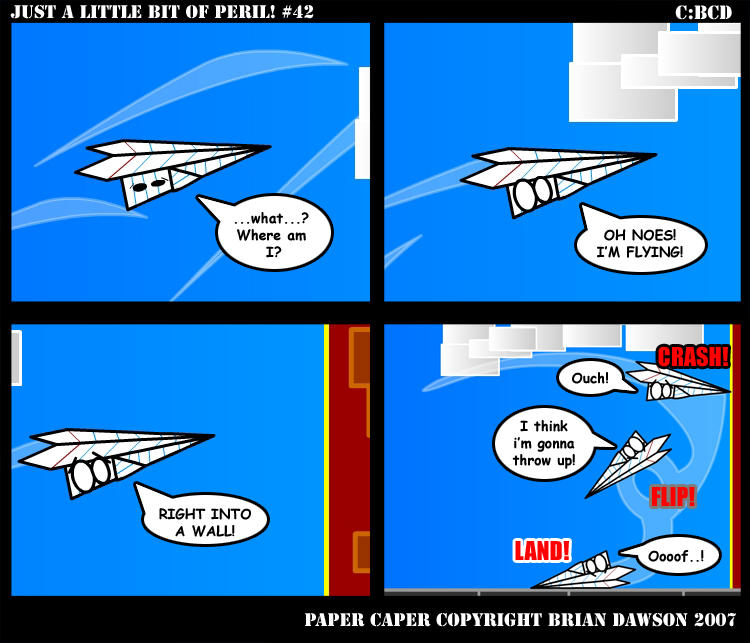 Paper Caper Comic 42