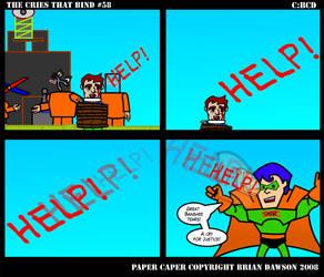Paper Caper Comic 58 by papercaper