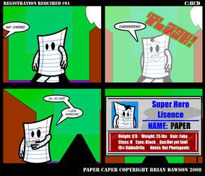 Paper Caper Comic 61 by papercaper
