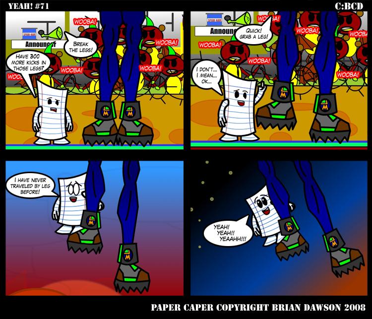 Paper Caper Comic 71 by papercaper