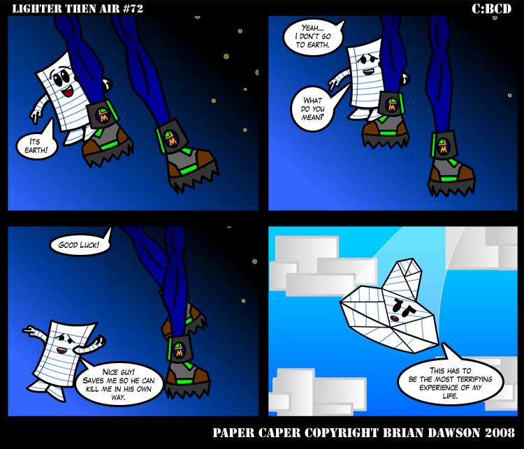 Paper Caper Comic 72 by papercaper