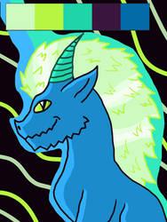 dragon color palette by hallowsjojo2000