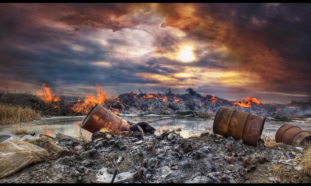 Water Burn by AdamSchraderDesign
